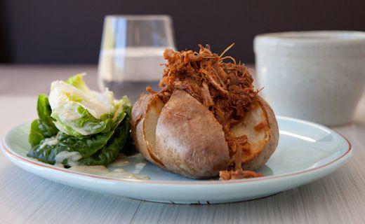 #Epicure Pulled Pork Baked Potato