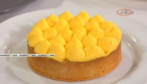 """La ricetta della crema al limone proposta da Fabio Campoli ne """"Non è mai troppo presto"""", le lezioni di Alice Tv sulla cucina."""