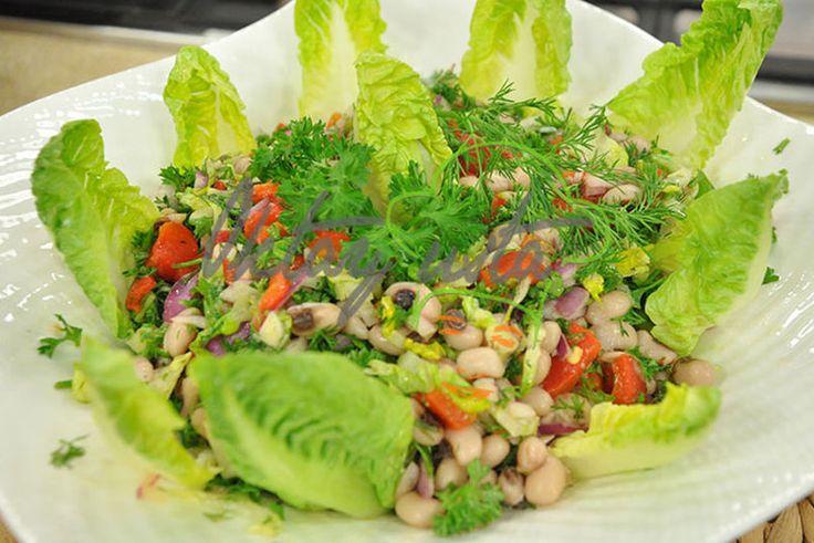 #Köz Biberli Börülce Salatası #biber #tarif #yemek #salata  http://www.kure.tv/foto-galeri/koz-biberli-borulce-salatasi/1