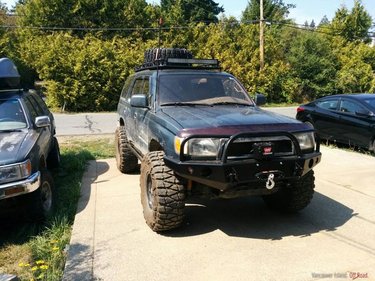 Well Half Way Through My 3 4l Swap In My 93 4runner I Saw A Good Deal Come Up On A Third Gen And Just Had To Have It So No 4runner