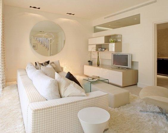 Modern family room ream-color