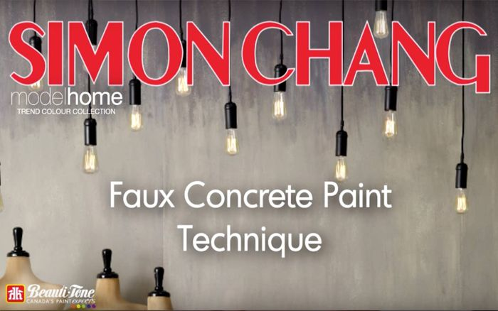 Creating a trendy look at home doesn't have to be expensive or time consuming. Simon Chang shows up how to achieve this look with Beauti-tone Paint and some Steel Wool.
