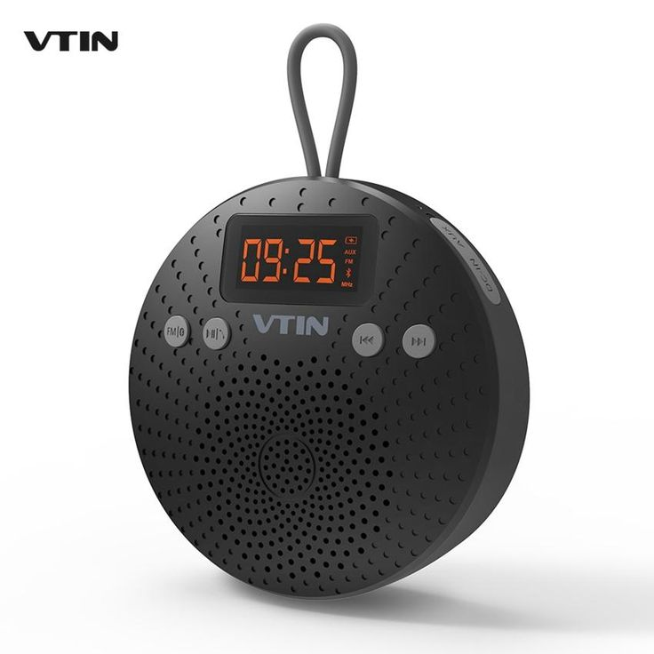 VTIN 5W Bluetooth Speaker IPX5 Waterproof Outdoor Hands-free Calls Speaker w/ FM Radio. Support APP: NoSupport Apt-x: NoFrequency Range: 100Hz-20KHzSupport Memory Card: NoWaterproof: YesIntelligent Personal Assistant: NoneRemote Control: NoSpeaker Structure: SealedInterface Type: 3.5mm,USBPlayback Function: MP3,RadioBuilt-in Microphone: NoAudio Crossover: Full-RangeSpeaker Type: PortableBrand Name: VTINChannels: 1Display Screen: YesVoice Control: NoBattery: YesNumber of Loudspeaker…