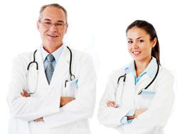 Medical doctors practice medicine to treat illnesses and injuries. They help people get better and save lives.
