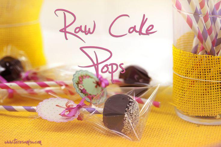 Raw Chocolate Cake Pops