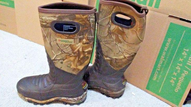 Gander Mountain Men's Vortex 750g Insulated Rubber Boot Size 9 #GanderMountain