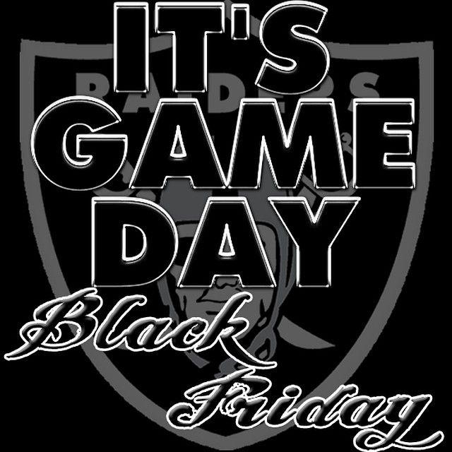 Happy Black Friday Raider Nation!