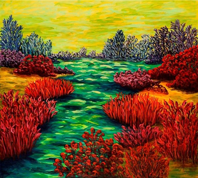 maggie de koenigsberg pintar es tirar pintura color