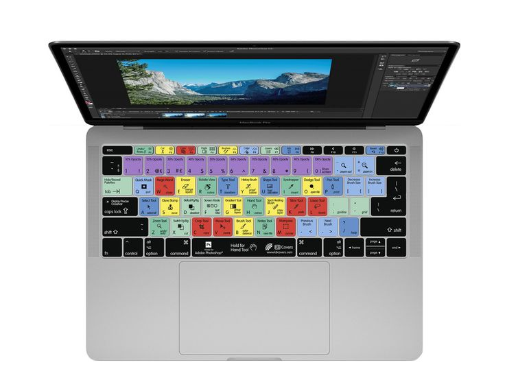 KB Covers - Photoshop Keyboard Cover, $29.95 (http://kbcovers.com/photoshop-keyboard-cover/)