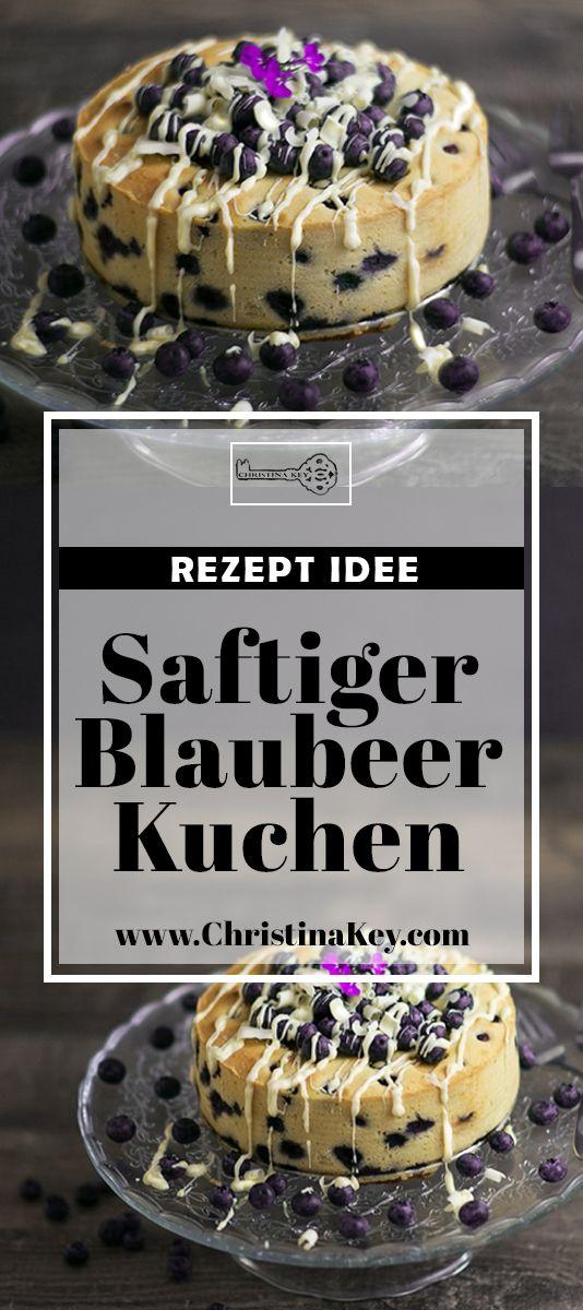 Rezept Idee für Genießer: Saftiger Blaubeer Kuchen mit weißer Schokolade - das perfekte Kuchen Rezept für Groß & Klein! Jetzt entdecken auf CHRISTINA KEY - dem Fotografie, Blogger Tipps, Rezepte, Mode und DIY Blog aus Berlin, Deutschland