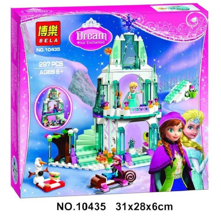 $17.99 (Buy here: https://alitems.com/g/1e8d114494ebda23ff8b16525dc3e8/?i=5&ulp=https%3A%2F%2Fwww.aliexpress.com%2Fitem%2F297pcs-Friends-LEPIN-Princess-Elsa-s-Sparkling-Ice-Castle-Building-Brick-Blocks-Anna-Elsa-Minifigure-toys%2F32732175964.html ) 297pcs Friends LEPIN Princess Elsa's Sparkling Ice Castle Building Brick Blocks Anna/Elsa Minifigure toys 10435 Girls for just $17.99