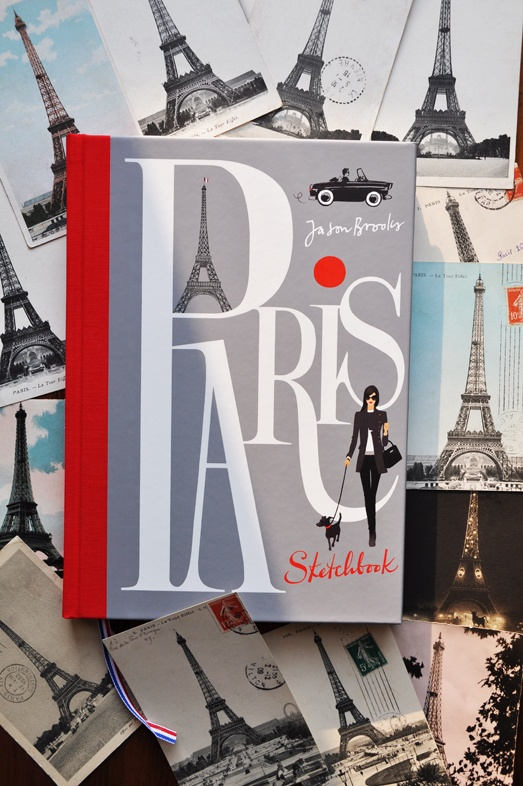 Paris Sketchbook by Jason Brooks