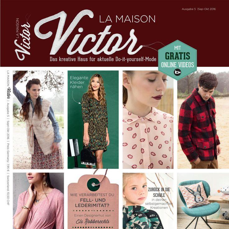 Wil je zelf ook de kleding en accessoires van je dromen maken? Dan is het magazine La Maison Victor iets voor jou. Ga ervoor!