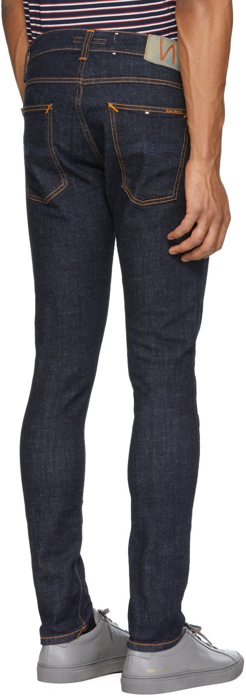 Nudie Jeans - Indigo Tight Terry Jeans