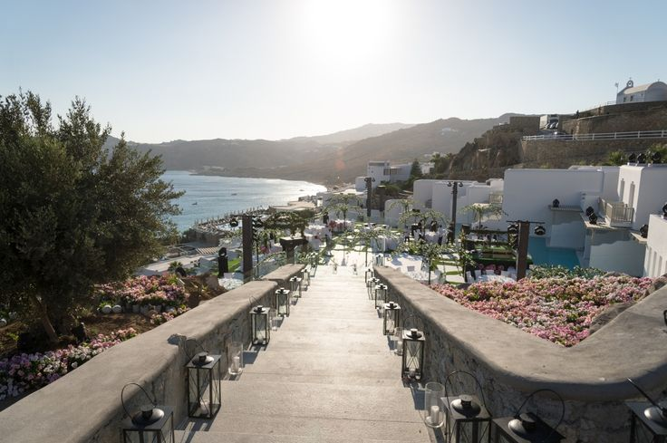 Pathway to a romantic and glamorous wedding ! #Live #Wedding #Event #Mykonos #MyconianImperial