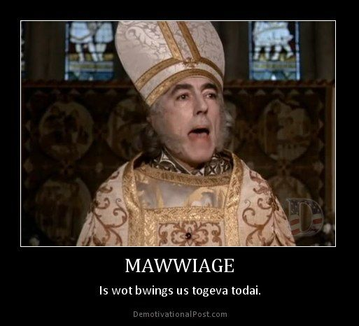 Of Marriage And Equality En Princess Bride