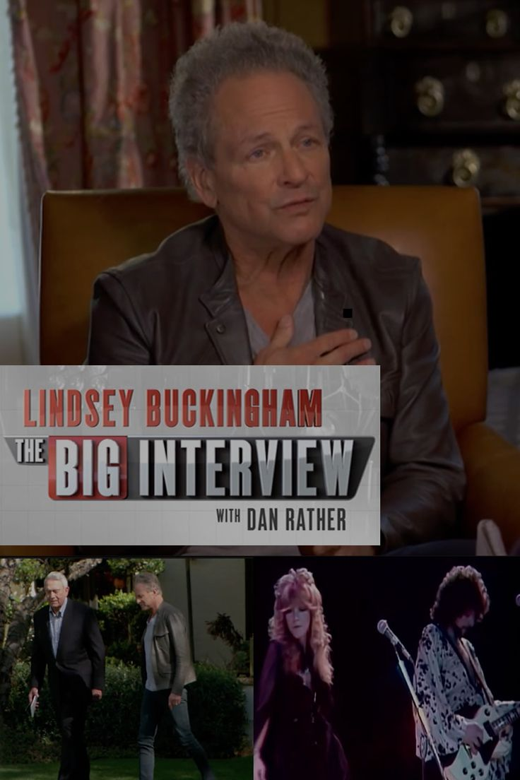 Artwork for Lindsey Buckingham on The Big Interview with Dan Rather on AXS TV (28th Apr 2015)