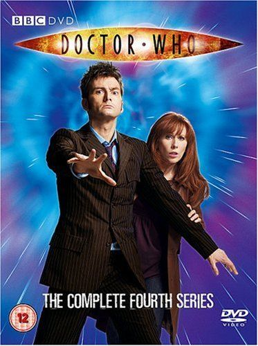 """Doctor Who: Series 4 (2008) starring David Tennant, Catherine Tate and Bernard Cribbins. """"Kicking off with a jam-packed Christmas special and ending with a blockbuster extended closing instalment, the fourth series boasts some exceptional episodes. Ones in particular to watch out for are the outstanding Silence In The Library/Forest Of The Dead, the almost single-location creepfest that is Midnight, and the trio of Turn Left, The Stolen Earth and Journey's End that round off the series."""""""