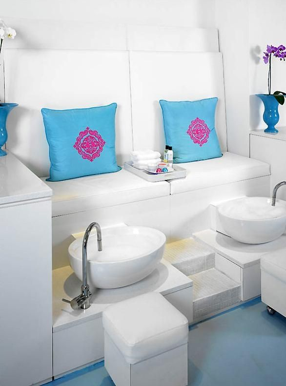 Beauty Salon Nails And Spa Design Ideas, so when im rich, im putting this in my pool house(: