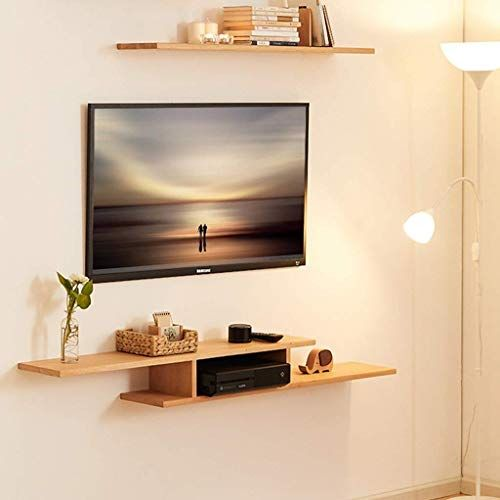 New Wall Mounted Tv Cabinet Wall Shelf Floating Shelf Tv Background Wall Decoration Shelf Hanging Tv Cab Tv Wall Shelves Tv Room Design Wall Mounted Tv Cabinet