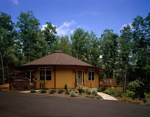 Exteriér Pohled na Deltec Home - Brevard, Severní Karolína - Windsor Design, 2070 čtverečních zastávka.