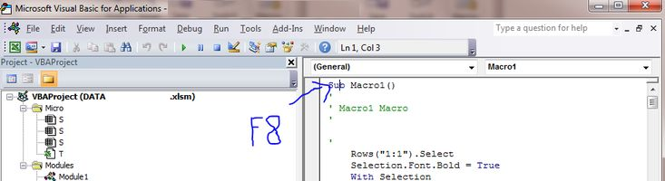How to understand Business Logic from Excel 2010 Macros?