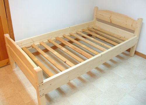 simple bed frame plans is a solution for you who want to have new bed with