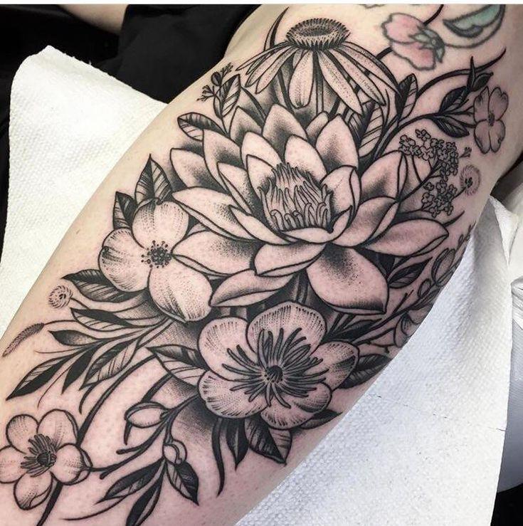Top 25 ideas about wildflower tattoo on pinterest plant for Tattoo shops lafayette la