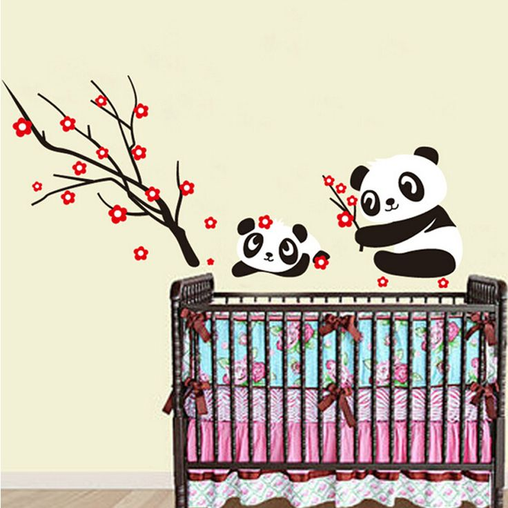 Gyerekszoba falmatricák lányoknak : Pandamacik cseresznyeágon falmatrica.  #panda  #gyerekszobafalmatrica #falmatrica #gyerekszobadekoráció #gyerekszoba #matrica #faldekoráció #dekoráció