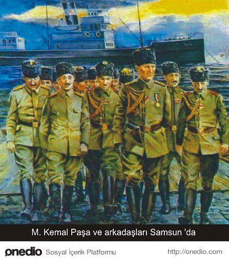 19 Mayıs 1919 - Samsun'a Varış