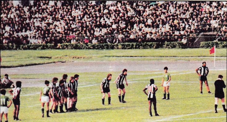 """May 1978. West Bromwich Albion put men it the wall against a China Select XI, in Peking. But as John Trewick said """"Once you've seen one wall, you've seen them all""""."""