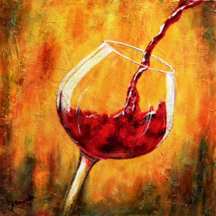 17 Best images about WINE || Art on Pinterest | Painted ...