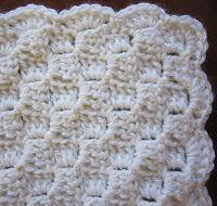 Sea Trail Grandmas: Preemie Crochet Blanket Diagonal Alternate Blocks With Crochet Border and Alternate Blocks Hat