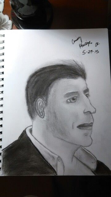 Recent drawing. Looks like John Trovolta but its actually Jim Caviezel and always will be in my heart! Who's with me!?!?