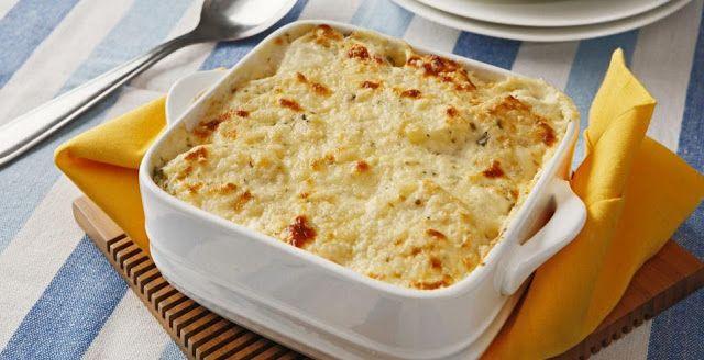 Sem Desperdício!: Dia de cozinha: Batata Gratinada para páscoa