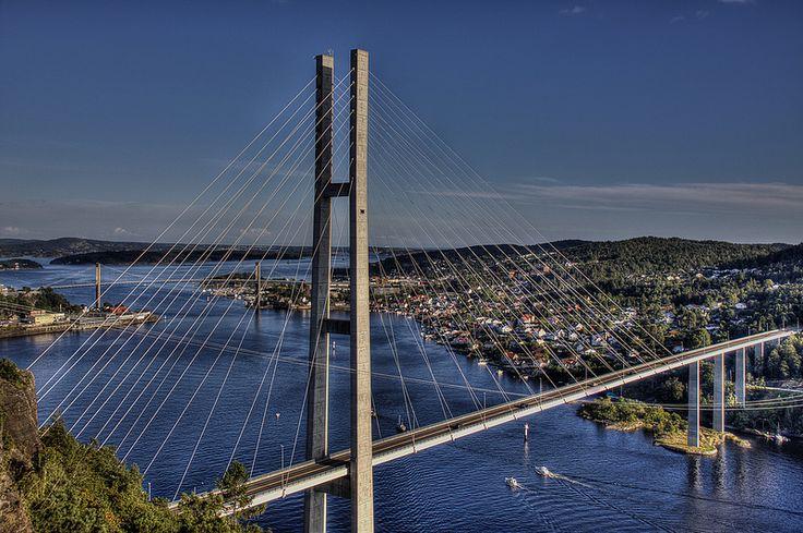 Bridge of Grenland - Grenlandsbroa, Telemark, Norway