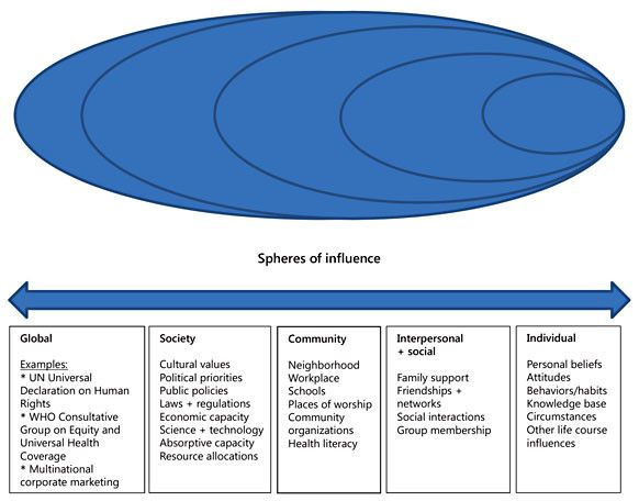 Download Scientific Diagram The Social Ecological Model