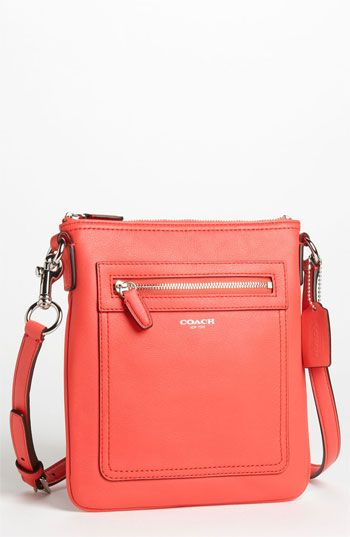 COACH Legacy Leather Crossbody Bag | Walk by in in Macy's all the time. WANT (in a different color)