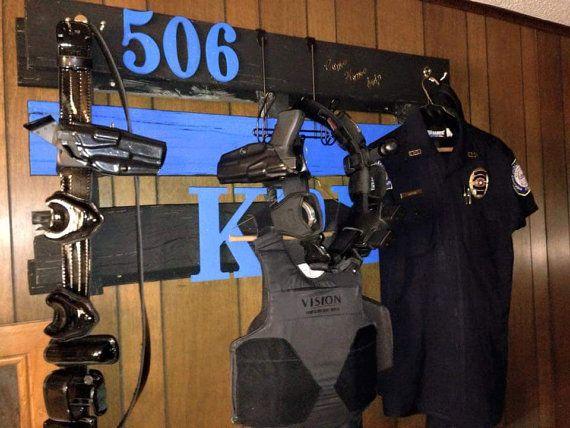 Duty Gear Holders by BlueLineWives on Etsy