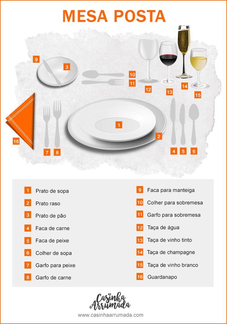 Se foi convidada para um almoço ou jantar mais formal, deve conhecer as regras de etiqueta à mesa para saber como se comportar e causar uma boa impressão.