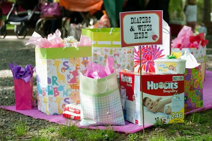 Girly bbq baby shower girl ideas supplies idea party planning for Baby shower bbq decoration ideas