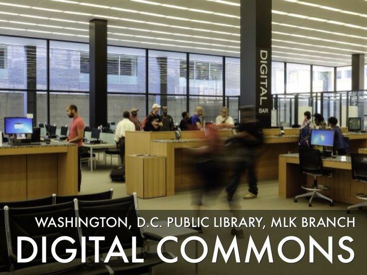 Digital Commons at Washington, DC Public Library, MLK Branch Catalysts For Change - Presentation Software that Inspires | Haiku Deck