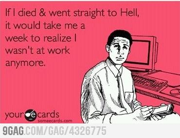 If you feel this way, time to make a job change. Get the job search ball rolling at www.fsgsite.com