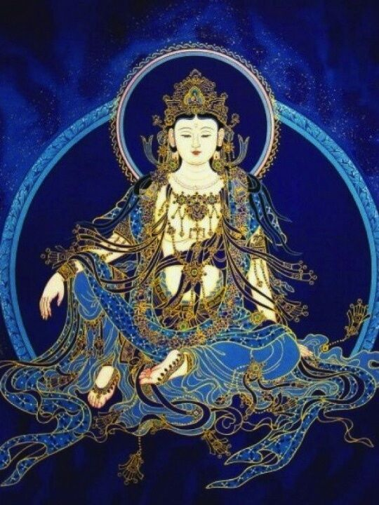 Kuan Yin in blue* Arielle Gabriel's memoir The Goddess of Mercy & The Dept. of Miracles, a unique tale of a mystic suffering financial devastation among the world's richest ex-pats *