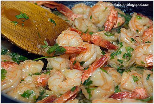 Camarones Al Mojo de Ajo, Mexican Garlic Shrimp