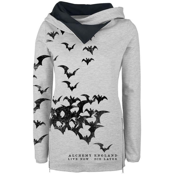 Bats Attack - Kapuzenpullover von Alchemy England