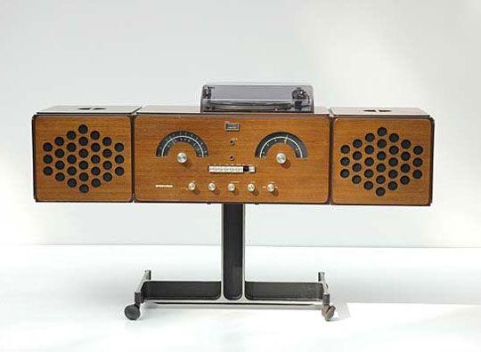 BrionVega Console Stereo