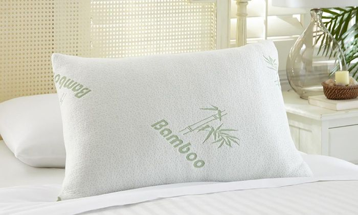 Bamboo Memory Foam Pillows (1 or 2