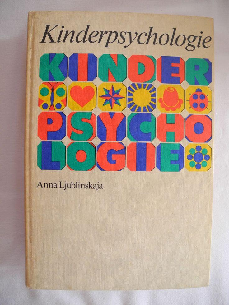 Buch Kinderpsychologie DDR 1979 Ostalgie Dachbodenfund Spiel Phantasie Baby VEB