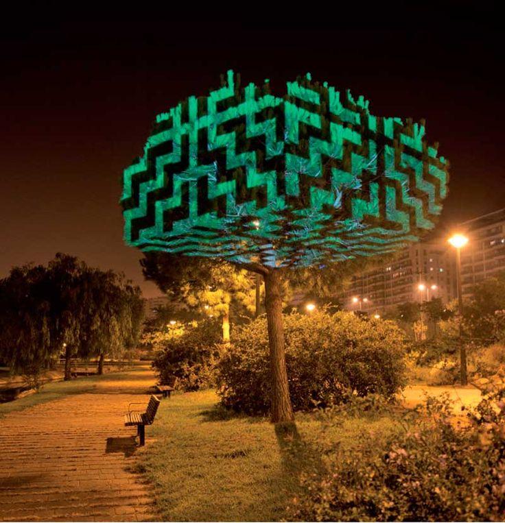 javier riera 44 - light projection